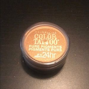 Maybelline Color Tattoo Pigments Breaking Bronze